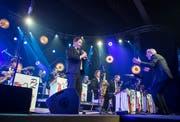 Die Pepe Lienhard Band swingt am zehnten Bluesfestival Frauenfeld und beweist, wie viel Blues im Jazz steckt. (Bild: Reto Martin)