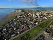 Temperaturrekord mit 32,2 Grad in Anchorage. Wissenschaftler gehen davon aus, dass die Klimaerwärmung in Alaska deutlich schneller voranschreitet als im Erddurchschnitt. (Bild: Keystone/AP City of Anchorage/Darrell Pederson)
