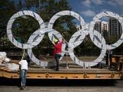 Schmiergeld-Zahlungen bei Olympia 2016 in Rio? (Bild: KEYSTONE/AP/FELIPE DANA)