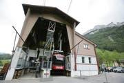Die Talstation der Ebenalpbahn in Wasserauen. (Bild: SGT)