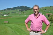 Ruedi Eberle aus Gonten wurde an der Landsgemeinde 2018 zum Säckelmeister gewählt. Er ist das erste SVP-Mitglied in der Innerrhoder Regierung. (Bild: PD)