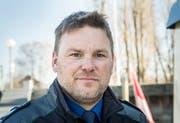 Marcel Kuhn ist Dienstchef der Thurgauer Seepolizei am Bodensee. (Bild: Andrea Stalder)