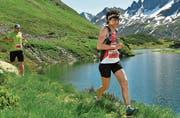 Doris Lüchinger aus Diepoldsau auf dem Weg zu einem fantastischen Resultat und dem Sieg in ihrer Altersklasse am Montafon Arlberg Marathon. (Bild: pd)