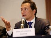 Der ehemalige Chef des mexikanischen Ölkonzerns Pemex, Emilio Lozoya, wehrt sich gegen Korruptionsvorwürfe. (Bild: KEYSTONE/AP/GUSTAVO MARTINEZ CONTRERAS)