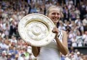2011 gewann Petra Kvitova zum ersten Mal in Wimbledon. (Bild: Keystone)