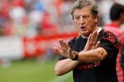 Roy Hodgson als Cheftrainer des FC Liverpool während einem Testspiel in der Herti-Allmend in Zug gegen GC. (Bild: Stefan Kaiser, Zuger Zeitung, 21. Juli 2010)