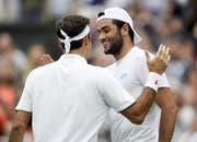 Matteo Berrettini enttäuschte gegen Federer auf ganzer Linie. (Bild: Keystone)