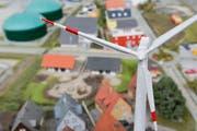 Erneuerbare Energien in der Ausstellung der «Innovationschüür» in der Swiss Future Farm Tänikon. (Bild: Donato Caspari)