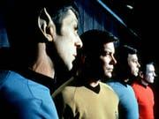 Der Halb-Vulkanier Mr. Spock (links) war eine der Hauptfiguren der ersten «Star Trek»-Serie. (Bild: KEYSTONE/AP Paramount Television/ANONYMOUS)