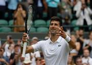 Für Tommy Haas ist Titelverteidiger Novak Djokovic der Favorit auf den Wimbledon-Sieg. (Bild: Keystone)
