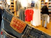 Der kürzliche Börsengang des Jeans-Herstellers Levi Strauss schmälerte den Gewinn im zweiten Quartal gehörig. (Bild: KEYSTONE/AP/DENIS POROY)