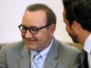 Schauspieler Kevin Spacey Anfang Juni vor Gericht in Nantucket im US-Bundesstaat Massachusetts. (Bild: KEYSTONE/AP/STEVEN SENNE)