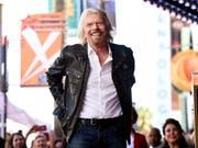 Der britische Milliardär Richard Branson will seine Weltraumtourismus-Firma Virgin Galactic in der zweiten Jahreshälfte 2019 an die Börse bringen. (Bild: KEYSTONE/AP Invision/CHRIS PIZZELLO)