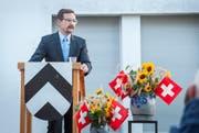 OSZE-Generalsekretär Thomas Greminger. (Bild: Sabrina Bächi)