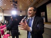Der Tessiner FDP-Präsident Bixio Caprara bezeichnete den Entscheid der FDP zum Wahlbündnis mit der CVP und der GLP als «historisch». (Bild: KEYSTONE/TI-PRESS/ALESSANDRO CRINARI)