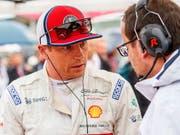 Kimi Räikkönen und sein Team wollen die aberkannten Punkte von Hockenheim zurück (Bild: KEYSTONE/EPA/SRDJAN SUKI)