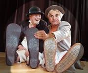 Eric Gadient und Olli Hauenstein haben das Clown-Syndrom. (Bild: PD)