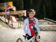 Zum dritten Mal im Weltcup auf dem Podest: Emilie Siegenthaler hat Grund zur Freude. (Bild: KEYSTONE/GIAN EHRENZELLER)