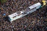 850'000 Raver waren an der Street Parade unterwegs – 78 von ihnen wurden verhaftet. (Bild: Keystone)