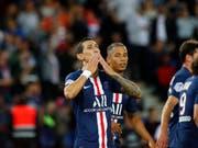 Angel Di Maria schoss den letzten Treffer von PSG (Bild: KEYSTONE/AP/FRANCOIS MORI)