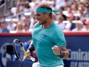 Rafael Nadal war in Montreal nicht zu stoppen (Bild: KEYSTONE/AP The Canadian Press/PAUL CHIASSON)