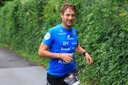 Der Österreicher Norbert Lüftenegger war der schnellste Triathlet am ersten Tag der Double-Deca-Disziplin. (Bilder: Robert Kucera)