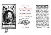 Sein «Essay über die Weltgeschichte und über den Geist und die Sitten der Nationen» gehört zu den bekanntesten Abhandlungen des französischen Philosophen und Schriftstellers François-Marie Arouet, besser bekannt als Voltaire. (Collage: BCU/Google Books/dvm)