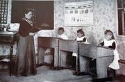 Die Rigischule im Jahr 1904: Nun folgt die Neuauflage - mehrheitlich in der Natur statt drinnen. (Bild: PD)