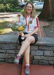 Daniela Pfister holte in Locarno den Schweizer-Meister-Titel. Bild: PD