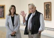 Leslie Wexner und seine Frau. Der Milliardär hat jahrelang Epstein vertraut. (Bild: AP)