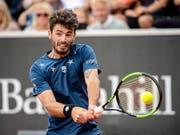 Der Argentinier Juan Ignacio Londero (ATP 55) ist in Cincinnati der erste Gegner von Roger Federer (Bild: KEYSTONE/EPA TT NEWS AGENCY/BJORN LARSSON ROSVALL)