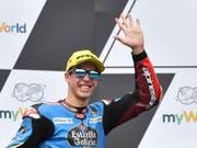 WM-Leader Alex Marquez fährt auch 2020 in der Moto2-Klasse (Bild: KEYSTONE/AP/KERSTIN JOENSSON)