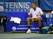 Das Enfant terrible des Tennissports wird in Genf antreten: Nick Kyrgios tritt am Laver Cup für das Team World an (Bild: KEYSTONE/FR67404 AP/NICK WASS)