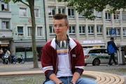 Der 17-jährige Raphael Schlegel ist seit etwa drei Jahren Hobby-DJ. (Bild: Laura Manser)