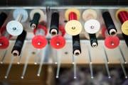 Der Lehrgang für Textildesign an der St.Galler Schule für Gestaltung kann trotz genügend Interessenten nicht starten. (Bild: Beat Belser)
