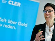 Sandra Lienhart räumt den Chefsessel bei der Bank Cler. Die Basler Kantonalbank setzt nach der vollständigen Übernahme von Cler auf ein neues Management. (Bild: KEYSTONE/WALTER BIERI)