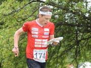 Daniel Hubmann ist wieder einmal einer der grossen Schweizer Hoffnungsträger (Bild: KEYSTONE/SWISS ORIENTEERING/REMY STEINEGGER)
