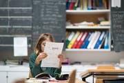 Die Französisch-Kompetenzen der Urner Oberstufenschüler sollen erhöht werden. (Symbolbild: Gaetan Bally/Keystone)