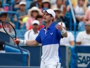 Andy Murray verzichtet auf einen Einzel-Start am US Open (Bild: KEYSTONE/FR171284 AP/GARY LANDERS)