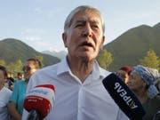 Dem kirgisischen Ex-Präsidenten Almasbek Atambajew wird nun auch ein Putschversuch vorgeworfen. (Bild: Keystone/EPA/IGOR KOVALENKO)