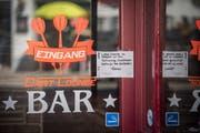 Die Dart Lounge in Arbon ist seit längerem geschlossen. (Bild: Reto Martin)
