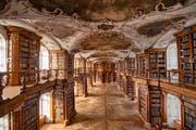 Die Stiftsbibliothek gehört zum UNESCO-Welkulturerbe. (Bild: Urs Bucher)