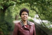 Die muslimische Menschenrechtlerin Saïda Keller-Messahli (Bild: KEYSTONE/Christian Beutler)