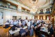 Der Grosse Rat anlässlich seiner Sitzung vom Mittwoch, 14. August 2019, in Frauenfeld. (Bild: Reto Martin)