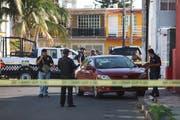 Leider alltäglich: Bewaffnete haben in Boca del Rio den Journalisten Marcos Miranda gestoppt und entführt. (Bild: F. Marquez/Keystone (12. Juni 2019))