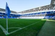 RCD-Espanyol-Stadion: Moderne Fussball-Arena für 40'500 Zuschauer lediglich rund zehn Autominuten vom Camp Nou des FC Barcelona entfernt. (Bild: Martin Meienberger/freshfocus)