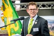 Jakob Stark gibt sein Amt als Regierungsrat des Kantons Thurgau ab. (Bild: Andrea Stalder)