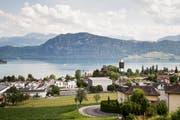 Die Gemeinde Meggen ist die zweitattraktivste Gemeinde in der Schweiz. (Bild: Manuela Jans-Koch, Meggen. 18. Juli 2019)