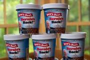 Ob die amerikanischen Wähler ihre Politiker auch im Essen mögen? Der Glacehersteller Ben & Jerries wills rausfinden. Bild: Ben & Jerries