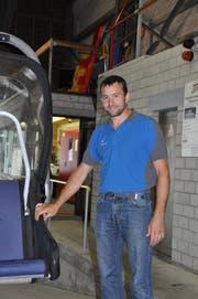 Roger Good ist als Anlagechef für die Sesselbahn Oberdorf-Gamsalp in Wildhaus verantwortlich (Bild: Sabine Camedda)